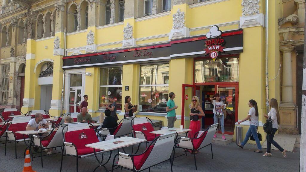 Шаурман кафе в Одессе