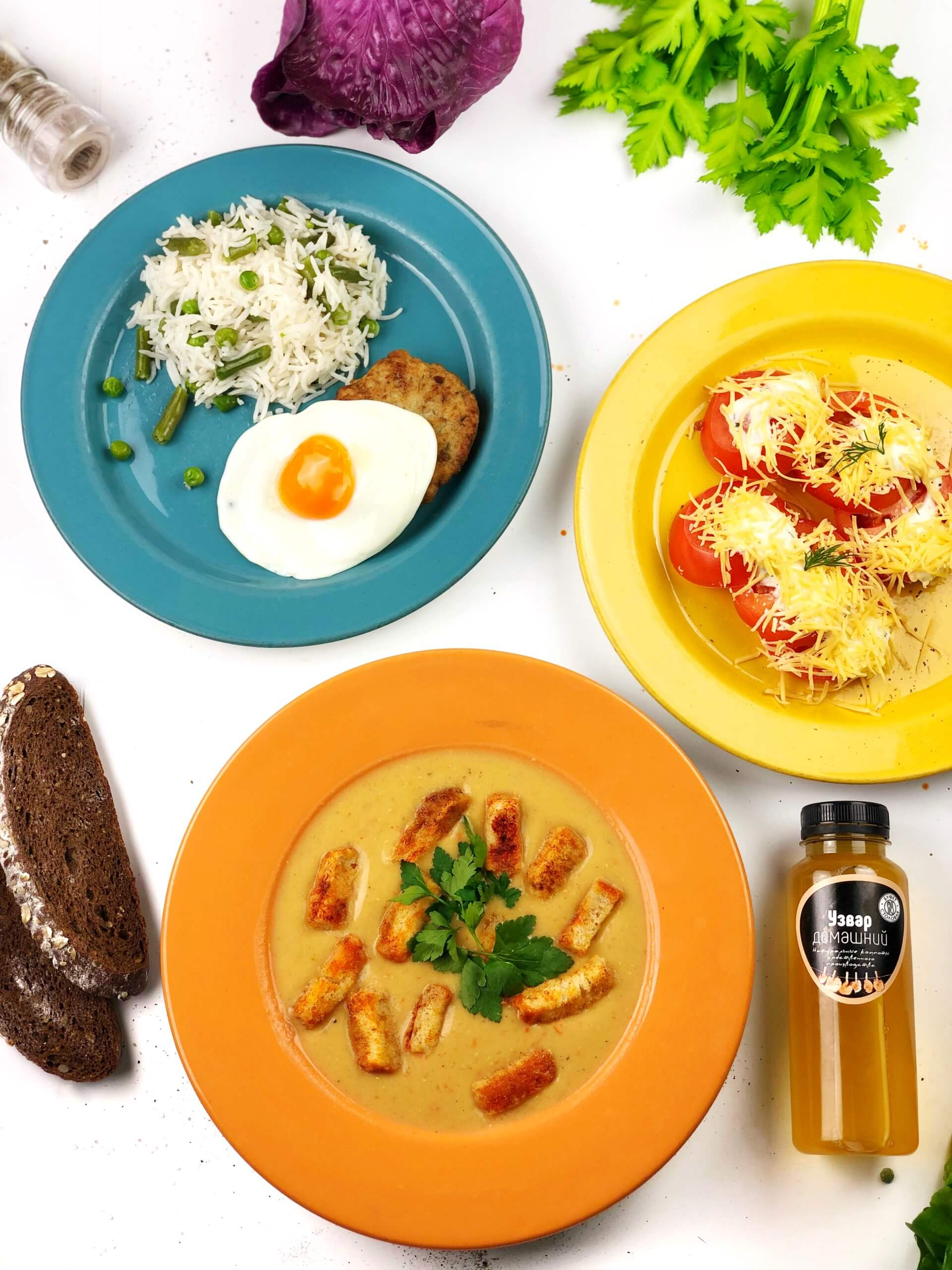 Комплексные обеды в Одессе